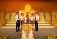 รูปภาพ : 13-07-63 บันทึกเทปถวายพระพร รัชกาลที่ 10