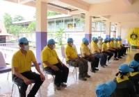 รูปภาพ : กิจกรรมจิตอาสาโครงการน้ำพระทัยพระราชทานเลี้ยงอาหารกลางวันแก่นักเรียน
