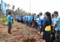 Image : คณะวิจัยการศึกษาแนวทางการพัฒนาชุมชนบ้านห้วยต้าแบบมีส่วนร่วมอย่างยั่งยืน มทร.ล้านนา ร่วมใจปลูกป่าเฉลิมพระเกียรติสมเด็จพระนางเจ้าสิริกิติ์ฯ เนื่องในวันแม่แห่งชาติ