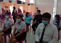 รูปภาพ : นักศึกษา มทร.ล้านนา เชียงราย ได้รับทุนการศึกษาจากกิ่งกาชาดอำเภอพาน จังหวัดเชียงราย จำนวน 3 ทุน