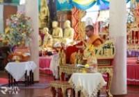 รูปภาพ :  ร่วมพิธีทอดผ้าป่าสนับสนุนโครงการทุนเล่าเรียนหลวงสำหรับพระสงฆ์ไทย ประจำปี 2563