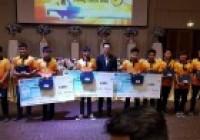 """รูปภาพ : นักศึกษาหลักสูตรวิทยาการคอมพิวเตอร์ผ่านรอบคัดเลือกภาคเหนือ ติด 1 ใน 10 ในการแข่งขันโครงการ """"สุดยอดฝีมือสายสัญญาณ Cabling Contest #8"""""""