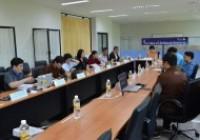 รูปภาพ : ประชุมติดตามการดำเนินงานของหอพักนักศึกษา