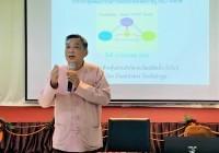 รูปภาพ : 26 ม.ค.64: มทร.ล้านนา ร่วมประชุมคณะกรรมการเครือข่ายองค์ความรู้ (KBO) จังหวัดลำพูน
