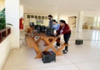 รูปภาพ : นักศึกษาและคณาจารย์หลักสูตรวิทยาการคอมพิวเตอร์ มทร.ล้านนา น่าน ส่งมอบคอมพิวเตอร์ให้โรงเรียนบ้านปางกอม อ. สองแคว จ. น่าน