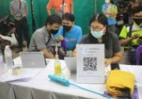 รูปภาพ : คณาจารย์และนักศึกษา หลักสูตรวิทยาการคอมพิวเตอร์ เข้าร่วมประกาศผลการออกสลากการกุศลงานประจำปีและงานของดีเมืองน่าน ปี 2564