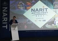 รูปภาพ : 27-03-64 เปิดนิทรรศการ Narit