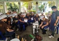 รูปภาพ : นศ.สาขาวิชาการท่องเที่ยว โครงการทุนนวัตกรรมสายอาชีพ เข้ารับการอบรมหลักสูตรการทำขนมไทยและเบเกอรี่ ณ สถาบันพัฒนาฝีมือแรงงาน 20