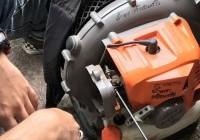 รูปภาพ : ปฏิบัติการซ่อมบำรุงเครื่องเป่าลม สนับสนุนภารกิจควบคุมไฟป่า อช.ดอยสุเทพ-ปุย