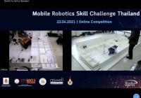 รูปภาพ : 22-04-64 แข่งขันหุ่นยนต์เคลื่อนที่