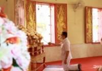 รูปภาพ : พิธีเจริญพระพุทธมนต์เนื่องในวันคล้ายวันพระราชสมภพ 5 ธันวาคม 2563