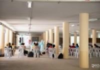 รูปภาพ : โรงพยาบาลสนาม มทร.ล้านนา ตาก เปิดรับผู้ป่วยโควิด-19 วันแรก