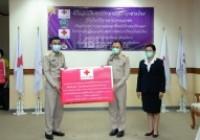 รูปภาพ : พิธีมอบเงินงบประมาณสภากาชาดไทยที่ได้รับบริจาคจากภาคเอกชนเพื่อสนับสนุน