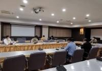 รูปภาพ : 28 มิ.ย.64: มทร.ล้านนา ร่วมประชุม การเปิดภาคการศึกษาของสถาบันอุดมศึกษาในจังหวัดเชียงใหม่ ณ ศูนย์ราชการ ศาลากลางจังหวัดเชียงใหม่