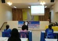 รูปภาพ : อาจารย์ มทร.ล้านนา ลำปาง เป็นวิทยากรจัดอบรมภาษาต่างประเทศเพื่อการสื่อสารด้านมัคคุเทศก์ 2627มิย64