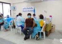 รูปภาพ : มทร.ล้านนา ตาก เข้ารับการฉีดวัคซีนป้องกันโรคโควิด-19