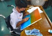 รูปภาพ : วาดฝันปันสุข ศิลปะร่วมสมัยเพื่อคนพิการ