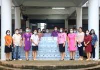 รูปภาพ : คณะบริหารธุรกิจและศิลปศาสตร์ มหาวิทยาลัยเทคโนโลยีราชมงคลล้านนา น่าน มอบน้ำดื่มให้กับโรงพยาบาลน่าน วันที่ 28 กันยายน 2564
