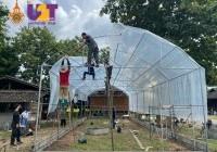 รูปภาพ : 24 - 26 ก.ย.64: มทร.ล้านนา สร้างโรงเรือนสมาร์ทฟาร์มแบบน็อคดาวน์ ณ โรงเรียนบ้านนาบุญโหล่งขอด ตำบลโหล่งขอด อำเภอพร้าว จังหวัดเชียงใหม่