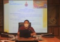 รูปภาพ : ผู้ช่วยอธิการบดีน่าน เป็นประธานการประชุมแนวทางการดำเนินการถวายผ้ากฐินมหาวิทยาลัยเทคโนโลยีราชมงคลล้านนา ประจำปี พ.ศ.2564