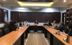การประชุมร่วมกับผู้แทนจาก Haikou College of Economics และ New Century International College สาธารณรัฐประชาชนจีน