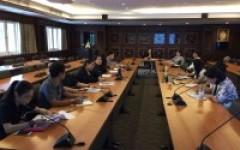 ประชุมติดตามผลการดำเนินงานรายตัวบ่งชี้ระดับสถาบัน ประจำปีการศึกษา 2559 ครั้งที่ 2