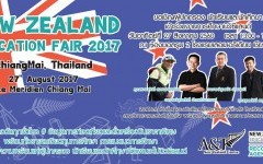 New Zealand Education Fair 2017 in Chiang Mai