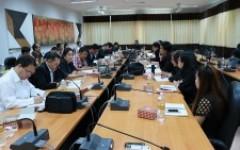 สภาคณาจารย์และข้าราชการ มทร.ล้านนา จัดประชุมครั้งที่ 35/2560