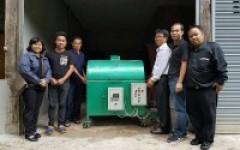 มทร.ล้านนา ลำปาง ส่งมอบเครื่องอบแห้งแบบถังหมุนแก่ผู้ประกอบการไร่สุวรรณใช้งานจริงในสถานประกอบการ