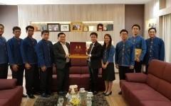 ผศ.ประพัฒน์ เชื้อไทย รักษาราชการแทนอธิการบดีมหาวิทยาลัยเทคโนโลยีราชมงคลล้านนา พร้อมคณะผู้บริหาร เข้าพบ อธิการบดีมหาวิทยาลัยเทคโนโลยีราชมงคลธัญบุรี