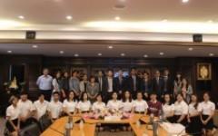 การประชุมร่วมกับคณะผู้แทนจาก Chongqing Technology and Business University (CTBU) สาธารณรัฐประชาชนจีน