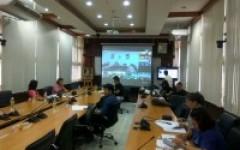 ประชุมชี้แจงแนวทางการดำเนินงานโครงการบริการวิชาการ ประจำปีงบประมาณ 2561