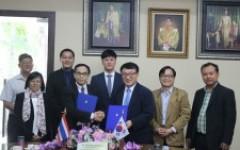 การประชุมร่วมกับผู้แทนจาก Korea University of Technology and Education (KOREATECH) สาธารณรัฐเกาหลีใต้