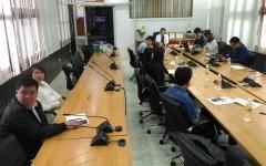 ประชุมแนวทางการดำเนินงานด้านบริการวิชาการร่วมกับธนาคารออมสิน