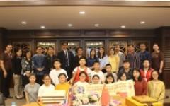 โครงการรับรองคณะอาจารย์และนักศึกษาจาก Dehong No.1 Nationality Senior High school
