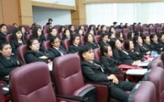 นศ.การบัญชี เข้ารับการอบรมโครงการสร้างนักบัญชีคุณภาพรุ่นใหม่ (Yong & Smart Accountants)