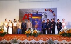 """ศิลปกรรมฯ ราชมงคลล้านนา ร่วมมือภาคีเครือข่าย จัดแสดงศิลปะร่วมสมัย นานาชาติ """"RMUTL International Art Workshop 2018"""""""
