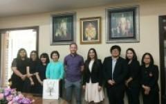 การประชุมร่วมกับผู้แทนจาก English Language Academy (ELA), The University of Auckland ประเทศนิวซีแลนด์