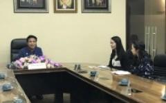 การประชุมร่วมกับผู้แทนจากสถานทูตนิวซีแลนด์
