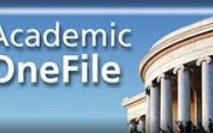 เปิดทดลองใช้งานฐานข้อมูล  Gale Academic OneFile
