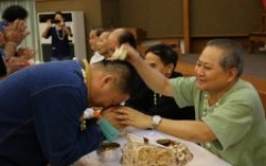 คณะวิศวกรรมศาสตร์ มทร.ล้านนา จัดพิธีรดน้ำดำหัวขอพรอาจารย์อาวุโสเนื่องในโอกาสเทศกาลสงกรานต์