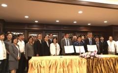พิธีลงนามบันทึกข้อตกลงความร่วมมือ(MOU) ระหว่าง มทร.ล้านนา กับ บริษัทโอก่ายะ (ประเทศไทย)จำกัด และบริษัท โอกายะ จำกัด (แผนกเหล็กและเหล็กกล้าที่ 2)
