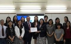 การประชุมร่วมกับคณะผู้บริหารจาก Chongqing University of Technology (CQUT)  สาธารณรัฐประชาชนจีน