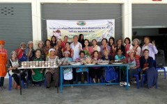 อาจารย์ มทร.ล้านนา ลำปาง รับเกียรติเป็นวิทยากรสร้างอาชีพแก่แม่บ้านเกษตรกร