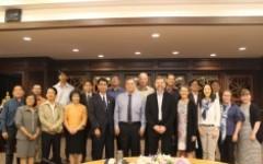 การประชุมร่วมกับผู้แทนจาก FinUni, UTA ประเทศฟินแลนด์ และ มทร.ธัญบุรี