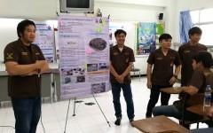 นศ.สาขาวิศวกรรมโยธา นำเสนอผลการปฏิบัติงานนักศึกษาฝึกงาน ประจำภาคเรียนที่ 3/2560