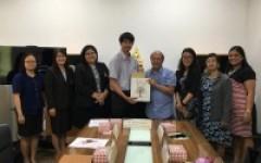 การประชุมร่วมกับคณะผู้แทนจาก Bataan Peninsula State University ประเทศฟิลิปปินส์