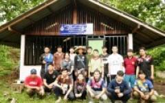คณาจารย์และนักศึกษาหลักสูตรวิศวกรรมเกษตรและชีวภาพ พัฒนาศูนย์การเรียนรู้ชมชน