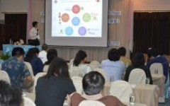 วิทยาลัยฯ จัดโครงการสัมมนาเชิงปฏิบัติการ การจัดการความรู้ด้านวิชาการ ด้านวิจัยและด้านบริหารจัดการ รูปแบบการเรียนรู้ร่วมกับการทำงาน WIL ณ โพธิ์วดลรีสอร์ท จ.เชียงราย