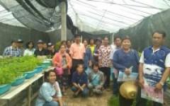 คณะศึกษาดูงานกลุ่มเกษตรกรตำบลน้ำโส อำเภอแม่ทะ จังหวัดลำปาง เข้าศึกษาดูงาน